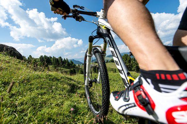 Mountainbiken auf der Seiser Alm
