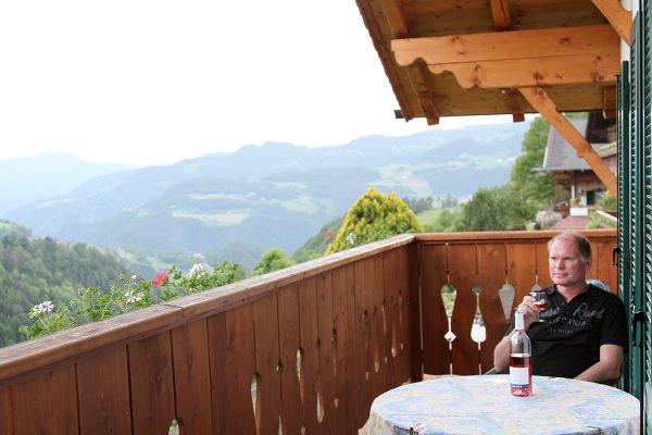 Ferienwohnung Rosengarten mit Balkon in Kastelruth